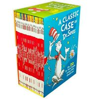 A CLASSIC CASE OF DR SEUSS 20 BOOKS CHILDREN COLLECTION PAPERBACK GIFT BOX SET