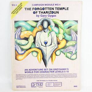 The Forgotten Temple of Tharizdun 1982 TSR AD&D Module WG4 9065 Gygax