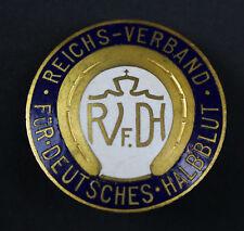 Mitgliedsabzeichen Reichsverband für Deutsches Halbblut Pferde Reiten