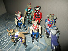 Lot figurines-BIKER MICE-1993-1995-Galoob-14 cm-articulées-Space Vinnie -MFD BTF