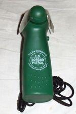 BORDER PATROL #28 KEN WALLACE Personal-Pocket Fan W/ Neck-Cord-Battery Operated
