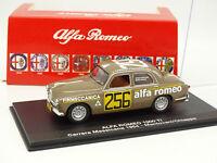 M4 1/43 - Alfa Romeo 1900 Super Carrera Messicana 1954