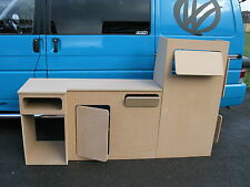 Volkswagen T4 Interior cupboards Bay window furniture. VW Units Cabinets