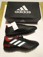 New in Box adidas Predator Tango 18.4 Men's Turf Soccer Shoes DB2143 Black