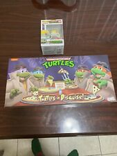 neca tmnt turtles in disguise 4 pack (Plus Bonus Pop!)