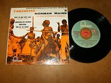 NORMAN MAINE - EP FRENCH FONTANA 460546  / LISTEN - LATIN JAZZ EXOTICA POPCORN