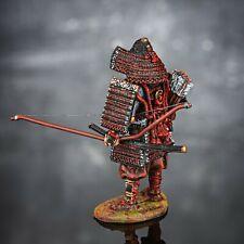 Zinnfigur. Samurai des Kriegerstandes im vorindustriellen Japan. Se-10, 54mm.
