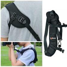 Focus F-1 Quick Rapid Sling Belts Neck Shoulder Strap SLR Camera Black For E2S8