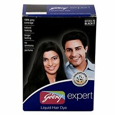 Godrej Expert Liquid Hair Dye, 2.98 Fluid Ounce (100% Grey Coverage)