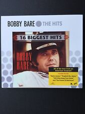 16 Biggest Hits Bobby Bare The Hits 2007 CD Marie Lavaux The Streets of Baltimor