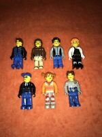 Lego Creator Figures Male and Female