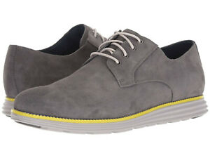 COLE HAAN ORIGINAL GRAND PLAIN TOE C28449 MAGNET GREY MENS SIZE 11M NEW WITH BOX