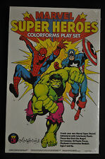 Marvel Super Heroes Colorforms Play Set - Colorforms (1983) SEALED