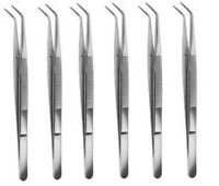 "6 College/ Cotton Dressing Pliers 6""Dental Instruments"