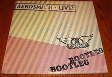 "AEROSMITH LIVE BOOTLEG  2-LP SET 12"" , 33 RPM 1978, SEALED"