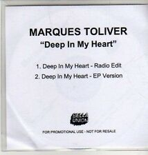 (CU300) Marques Toliver, Deep In My Heart - 2011 DJ CD