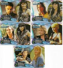 Xena Art Images Women Warriors 5-card set ltd ed WW1 WW2 WW3 WW4 WW5 number 2