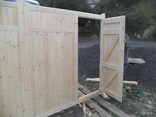 wooden driveway gates 7ft h x 10 ft w  elite extra gate