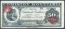 +F.C. BILLETE DE MEXICO. 50 CTVOS 1920. P.16. EBC-.