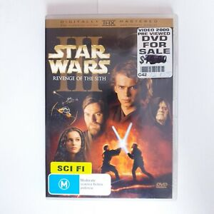 Star Wars Episode III 3 Revenge of the Sith DVD Movie Region 4 Free Postage