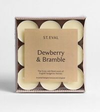 """St Eval """"Dewberry & Bramble"""" Scented Tealights (9) TWO Packs"""