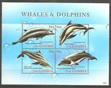 Wale Delfine Gambia 6177/6180 postfrisch