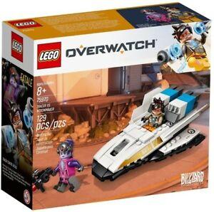 Lego Overwatch Tracer vs. Widowmaker (75970) Building Kit 129 Pcs