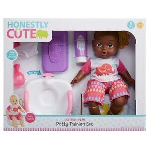 "Honestly Cute Potty Training Set & 14"" AA Doll (slightly Torn box)"