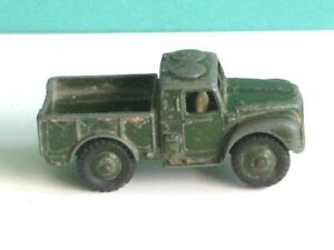 1 x DINKY TOYS # 641. ARMY 1-TON CARGO TRUCK. 1954-61. MECCANO DIECAST