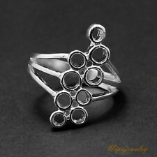 Ring Setting Sterling Silver 2.5-3.2 mm.Round. size 6.25