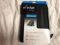"M-Edge Latitude 360 Case Kindle Fire HD 8.9"" Black with Zipper Closure Brand New"