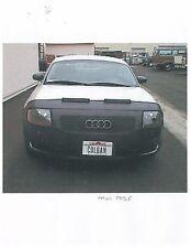 Colgan Front End Mask Bra 2pc. Fits Audi TT 2000-2006 W/O License Plate