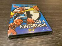 Los 4 Fantastici Nº 2 DVD Marvel Cartoni Sealed