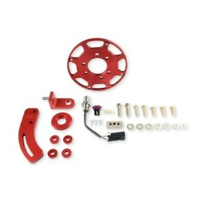 MSD 86101 Crank Trigger Kit For w/Small Block Chevy Engines Red NEW
