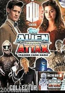 DOCTOR WHO ALIEN ATTAX  FOIL OR MIRROR  CARDS   1 TO 48  .CHOOSE  BY TOPPS