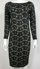 NEW Ingrid & isabel Womens Maternity Dress Size Small Black Long Sleeve Floral