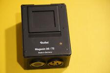 Rollei Magazin 36 / 72. Für Rolleiflex 2000 3001 3003.