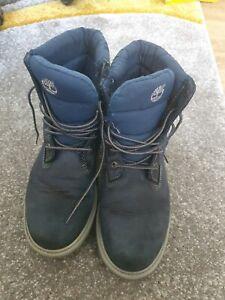 Timberland Boots Blue Size 5 Uk