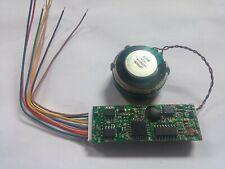 No return. HO DCC Steam Sound Decoder with speaker