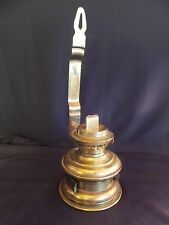 Antique Tseng-Meienter Co. Ltd. Brass Wall Mount Oil Lamp