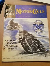 the motorcycle magazine very good special issue TT report june 1960