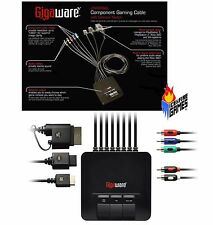 New Gigaware Component HD AV Cable w/ switch for Xbox 360, Wii, PS2 & PS3