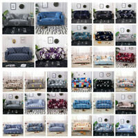 1-4 Seater Modern Furniture Sofa Covers Washable Stretch Cover Stretch Slipcover