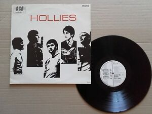 LP 33t THE HOLLIES disque vinyle BGOLP 25 ( poch EXC vinyle EXC ) 1988