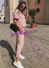 Zara Pink Co Ord Tracksuit M Medium 10 New