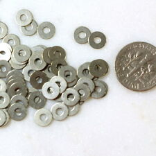 Micro Washers, Leather Embellishments, 6.35mm, Tin, TierraCast, 100 Piece, 7045