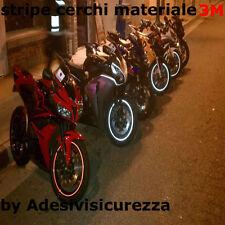 3M™ Reflektierende Felgenrandaufkleber Motorrad & Auto 7mm x 6 mt reflektor