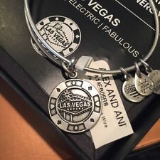 Alex And Ani Las Vegas Bracelet Silver Chip NEW with tags