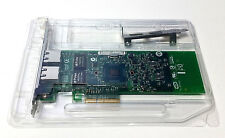 DELL 01P8D1 DUAL PORT GIGABIT ETHERNET ADAPTER WITH FULL & HALF HEIGHT BRACKET