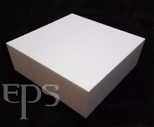 "Styrofoam Block 12""x 12""x 4"" EPS Polystyrene Craft Hotwire Foam"